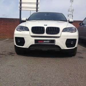 BMW X6 DPF